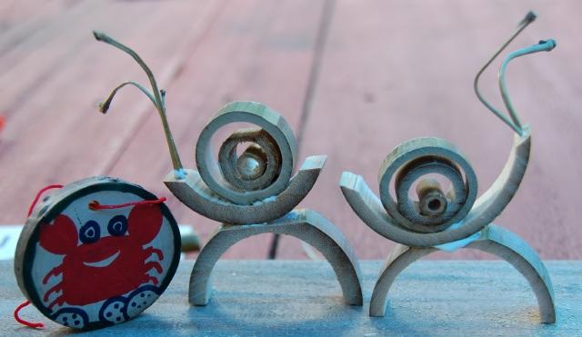 「夏休み工作」…竹かざぐるま&かたつむりを作ろう!!_c0108460_1451978.jpg