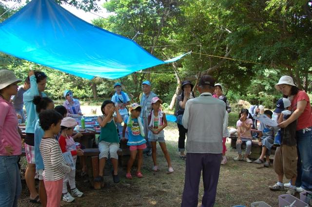 「夏休み工作」…竹かざぐるま&かたつむりを作ろう!!_c0108460_1454624.jpg