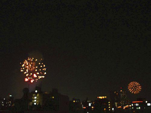第35回 隅田川花火大会@ホームパーティ。..。.゚。*・。♡ _a0053662_1723539.jpg