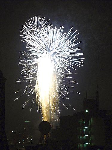 第33回 隅田川花火大会@ホームパーティ。..。.゚。*・。♡ _a0053662_1842739.jpg