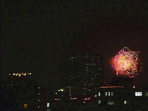 第35回 隅田川花火大会@ホームパーティ。..。.゚。*・。♡ _a0053662_18504088.jpg