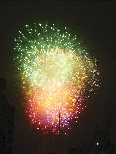 第33回 隅田川花火大会@ホームパーティ。..。.゚。*・。♡ _a0053662_19144297.jpg