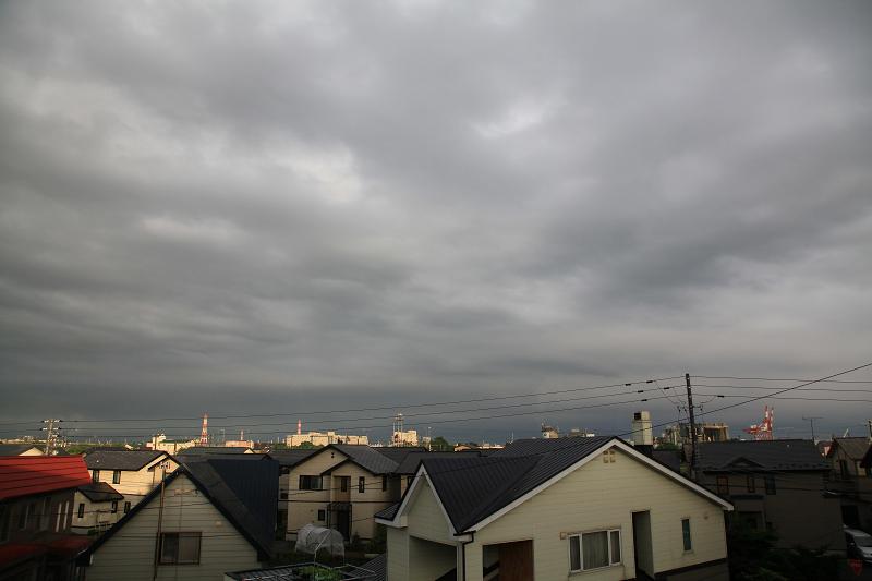 雨が上がり 夕焼け期待するが_a0160581_19392049.jpg