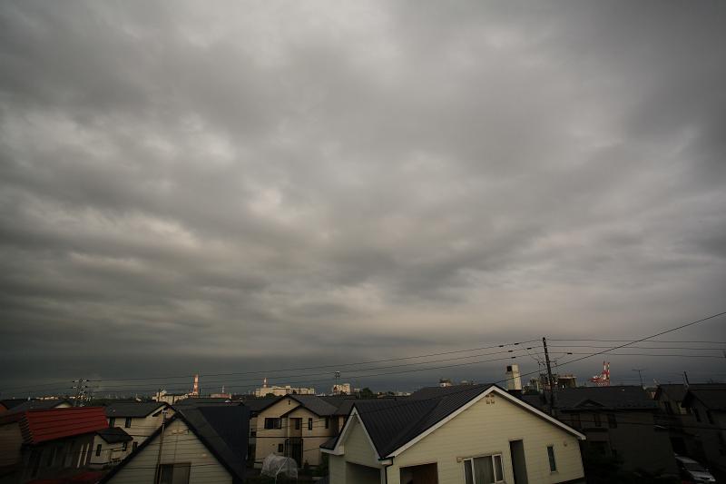 雨が上がり 夕焼け期待するが_a0160581_19411479.jpg