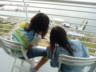 福岡から静岡へ!その5。琵琶湖に着きました。_e0188087_1810326.jpg