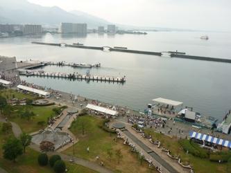 福岡から静岡へ!その5。琵琶湖に着きました。_e0188087_1883028.jpg