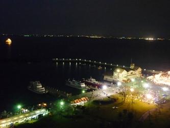 福岡から静岡へ!その6。琵琶湖の夜景。_e0188087_19561123.jpg