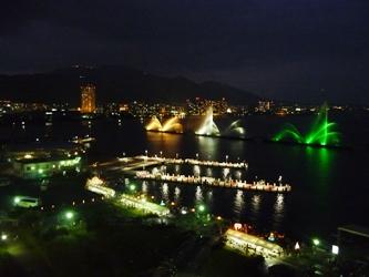 福岡から静岡へ!その6。琵琶湖の夜景。_e0188087_19581442.jpg