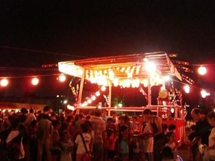 油平の盆踊り祭り_c0228895_23183634.jpg