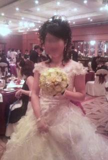 白雪姫のような花嫁_c0165824_16361487.jpg