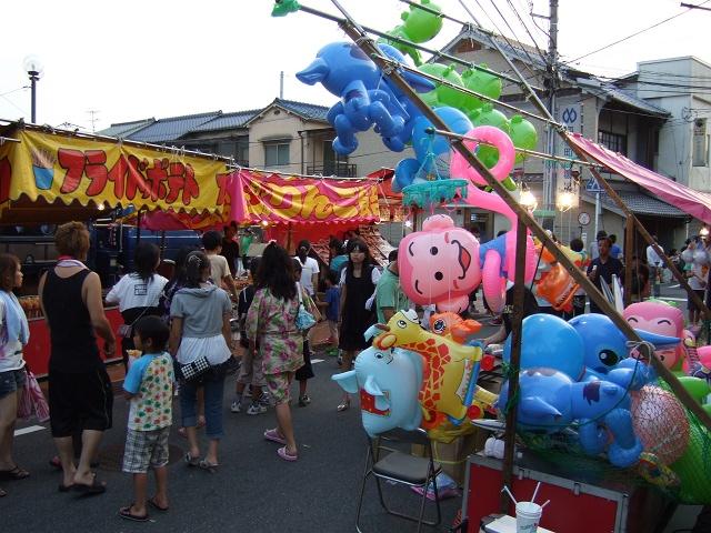熊野神社夏越大祭 その3 旧山陽道での屋台の様子_b0095061_23135997.jpg