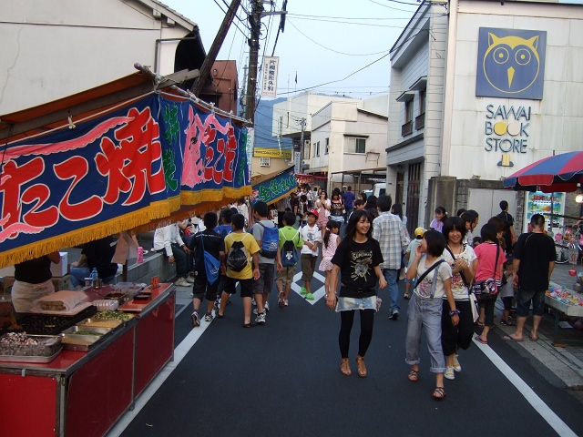 熊野神社夏越大祭 その3 旧山陽道での屋台の様子_b0095061_23141493.jpg