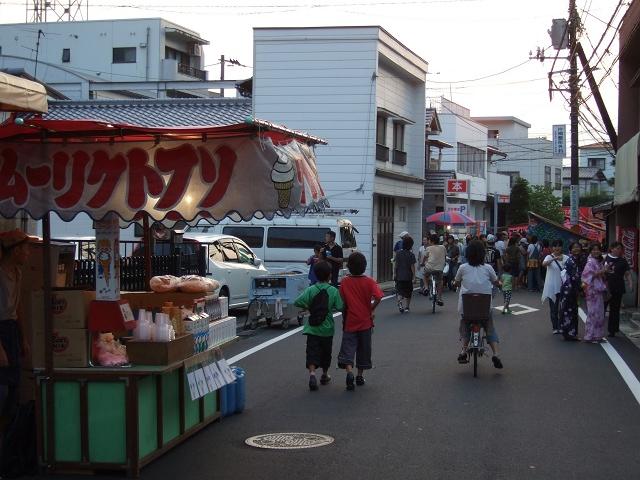 熊野神社夏越大祭 その3 旧山陽道での屋台の様子_b0095061_23145863.jpg