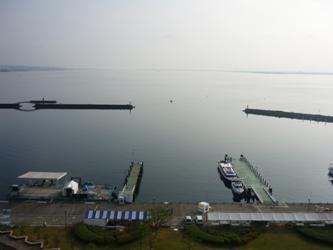 福岡から静岡へ!その7。琵琶湖の朝です。_e0188087_7134221.jpg