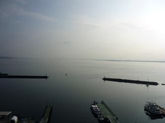 福岡から静岡へ!その7。琵琶湖の朝です。_e0188087_7151996.jpg