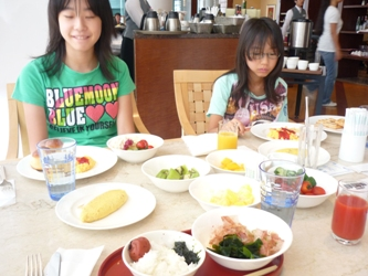福岡から静岡へ!その8。琵琶湖ホテルでの朝ごはん。_e0188087_984134.jpg