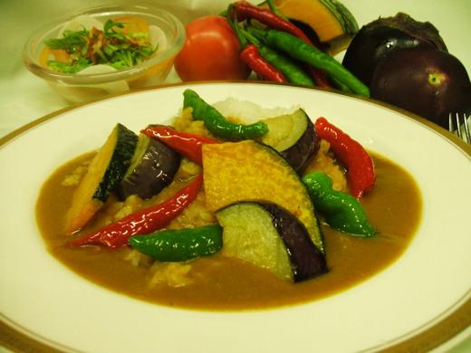 夏の京野菜カレー _d0162300_1553689.jpg