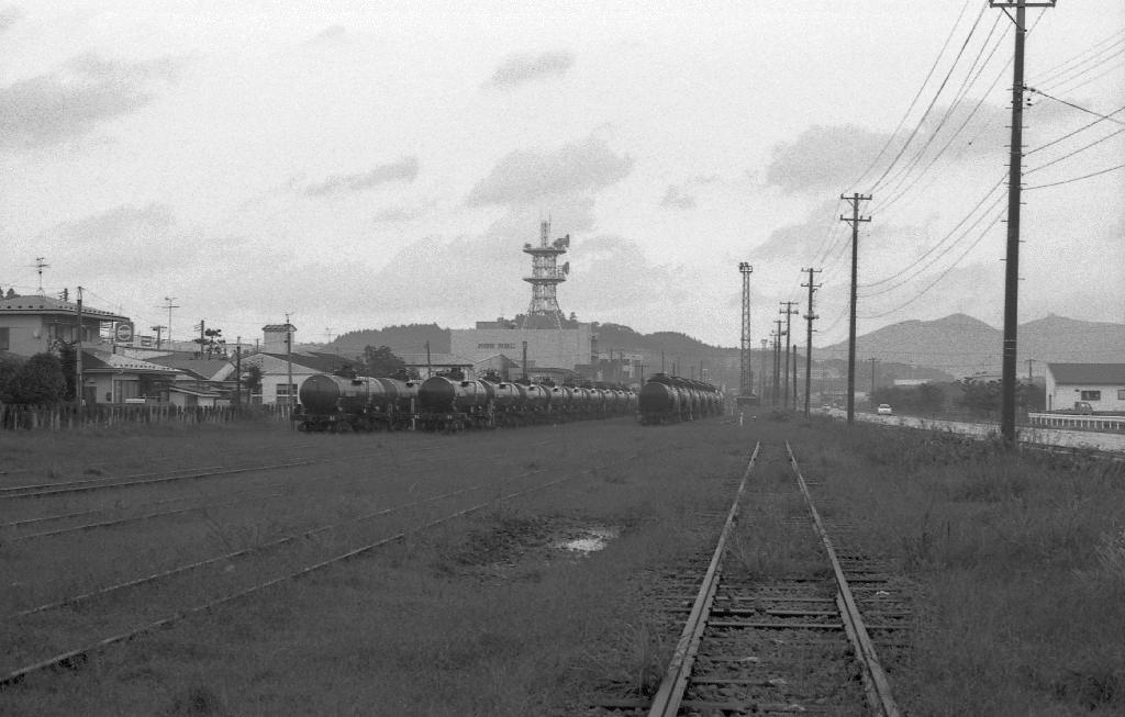 1995年9月 船川港その1 : 急行越...