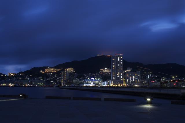 鶴の港の夜を照らす花_e0102255_213858.jpg
