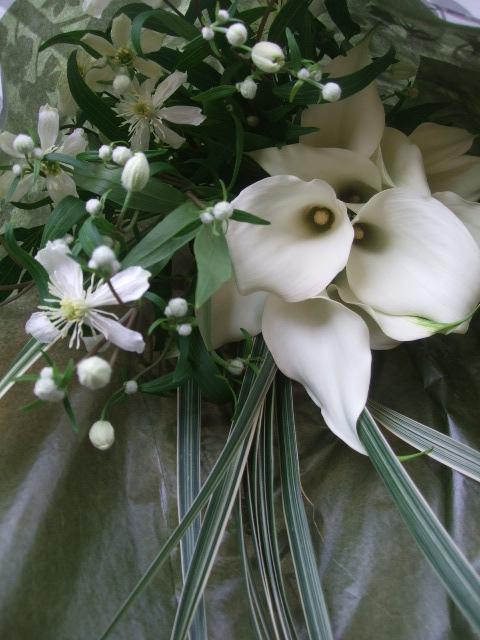 オークリーフ(カラー・クリスタルブラッシュの花束)_f0049672_1340222.jpg