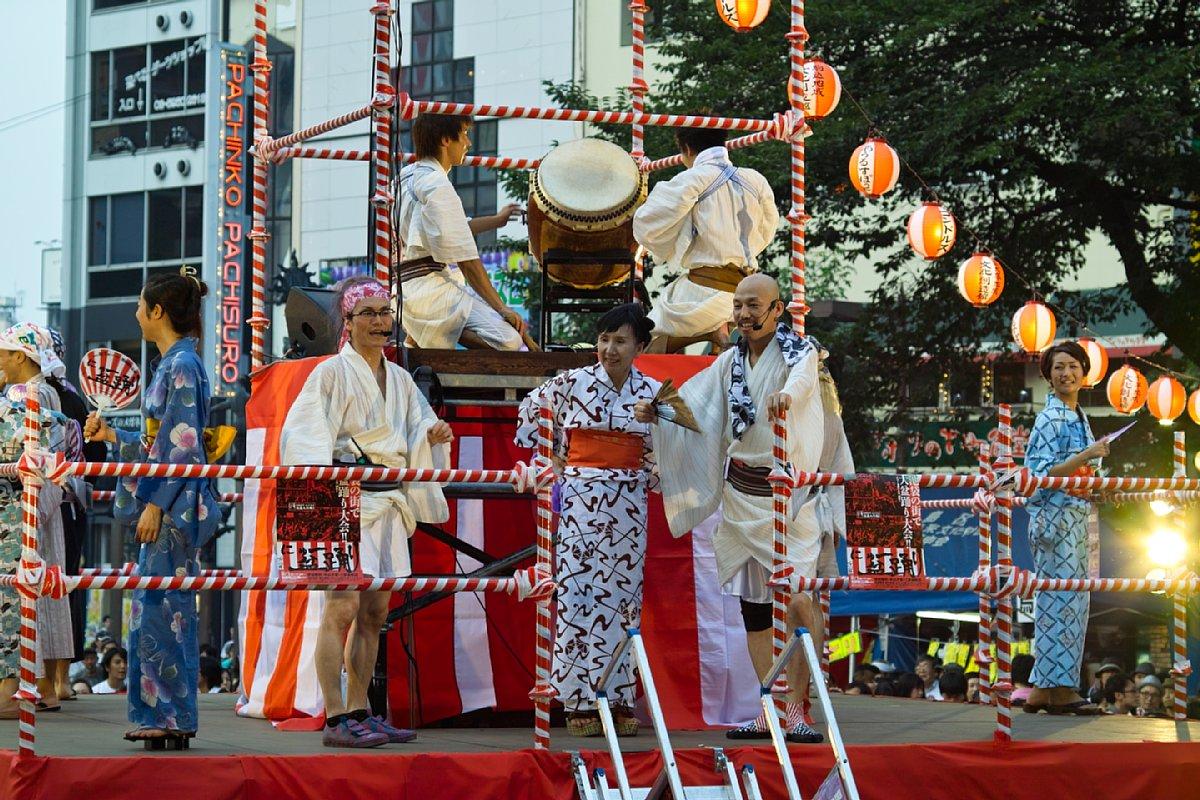 池袋西口公園 「にゅー盆踊り」_c0124795_1202773.jpg