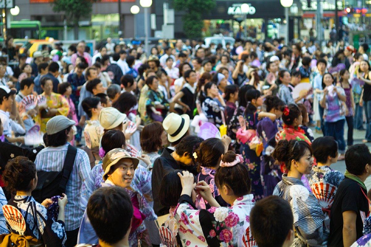 池袋西口公園 「にゅー盆踊り」_c0124795_123064.jpg