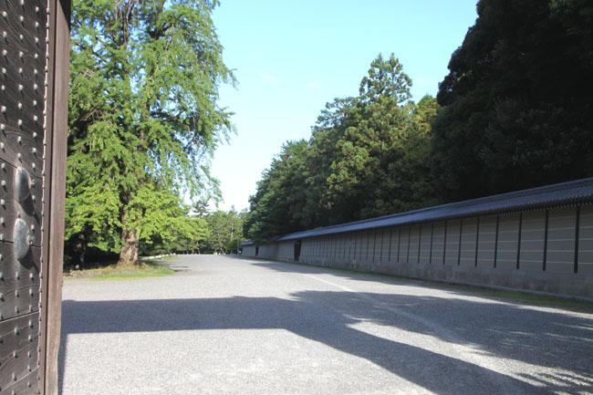 京都御苑 寺町御門の百日紅_e0048413_17272462.jpg