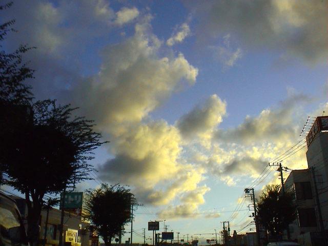 今日の空、今日の雲。_e0060555_2332826.jpg