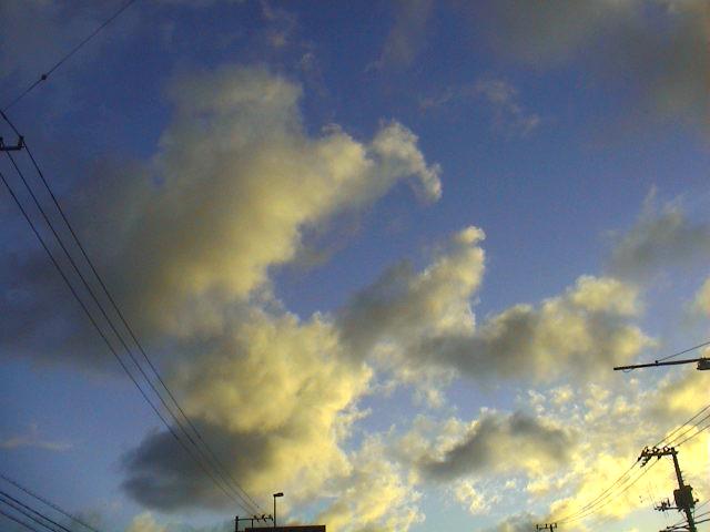 今日の空、今日の雲。_e0060555_23334756.jpg