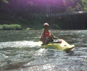 川を泳いでみた(ライフジャケット着用)_f0230689_14192217.jpg