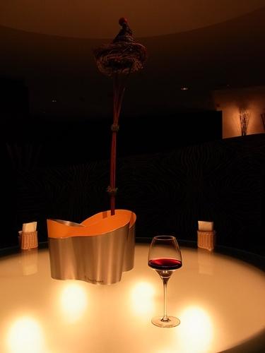 ホテルのワイン
