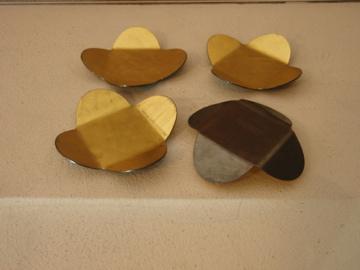 南沢奈津子さんから届いた真鍮のお皿や茶托_b0132442_17403825.jpg