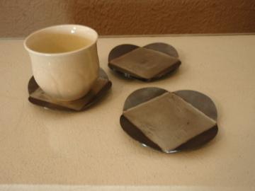 南沢奈津子さんから届いた真鍮のお皿や茶托_b0132442_17471857.jpg