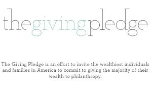Giving Pledge 世界屈指の大富豪が慈善事業への寄付活動を普及へ_b0007805_1355644.jpg