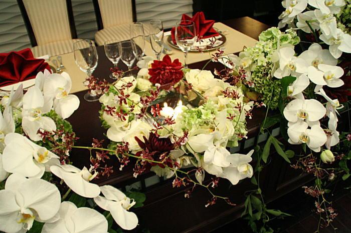 新郎新婦様からのメール 和の装花 目黒雅叙園様へ_a0042928_143417.jpg