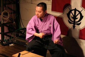 西暦2010年9月26日、ガンダム講談、新宿に見参!_e0025035_1515553.jpg