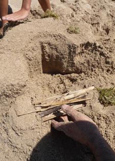 ユキちゃん作「砂の」カステッロ・デル・モンテ_f0106597_6195567.jpg