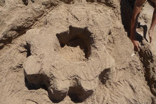 ユキちゃん作「砂の」カステッロ・デル・モンテ_f0106597_6222127.jpg