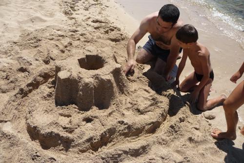 ユキちゃん作「砂の」カステッロ・デル・モンテ_f0106597_623563.jpg