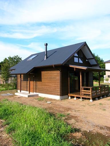 OTさんの家 完成(1) 2010/8/7_a0039934_18375692.jpg