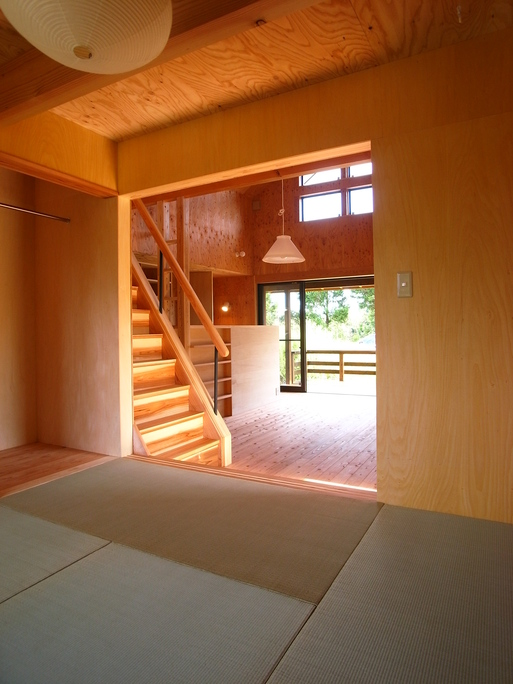 OTさんの家 完成(1) 2010/8/7_a0039934_1846129.jpg