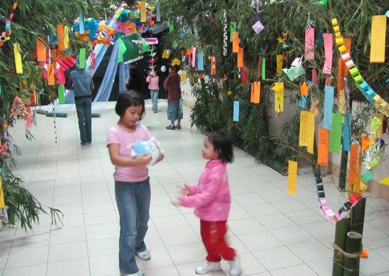 Tanabata Festival in Baguio  バギオが仙台?になった_a0109542_23384739.jpg