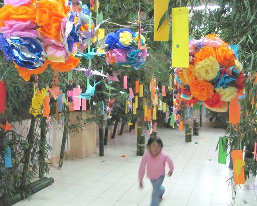 Tanabata Festival in Baguio  バギオが仙台?になった_a0109542_2342885.jpg