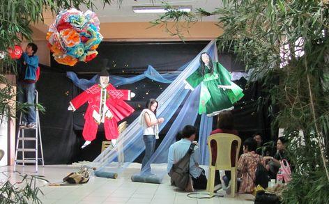 Tanabata Festival in Baguio  バギオが仙台?になった_a0109542_23492357.jpg