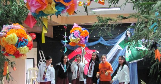 Tanabata Festival in Baguio  バギオが仙台?になった_a0109542_2357444.jpg