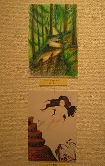 第14回 POST CARD 300人展  最終日_e0134502_1041247.jpg