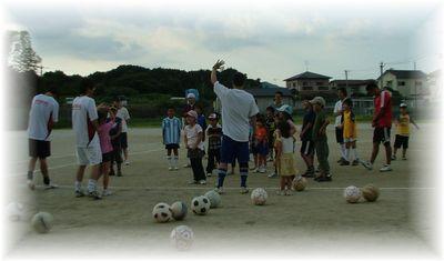 第4回 親子で楽しむサッカー教室_c0218303_1583380.jpg