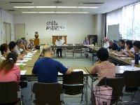 委員会が終われば 夏祭りと市政報告会_c0133422_0253955.jpg