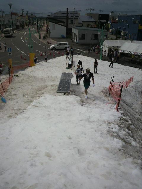 夏 スノボー 沼田町_e0173533_1031111.jpg