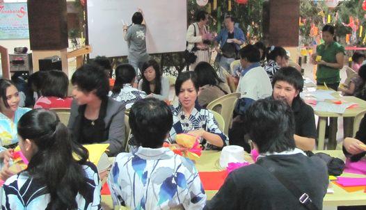 Tanabata Festival in Baguio  バギオが仙台?になった_a0109542_041414.jpg